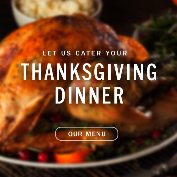Thanksgiving Dinner pop-up